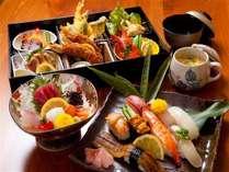 お寿司付きプラン(写真一例