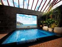 2019年末オープン開放的な展望露天風呂