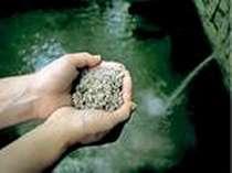 全国的にも珍しい砂湯を体験