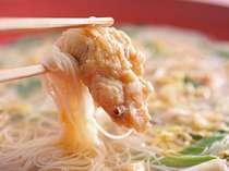 鱧麺・・・・名物【鯛麺】の鱧バージョン♪ 鱧と素麺のコラボも◎