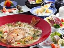 鯛麺コース◎
