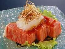 最高級の松阪牛を使用した創作料理