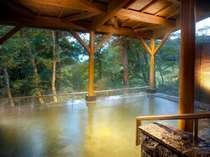 森の中の露天風呂【男性/露天風呂】
