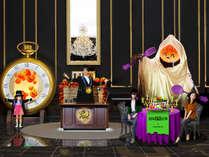 9/7~11/4 いたずら好きなカボチャおばけと一緒にハロウィーン・パーティを楽しもう!