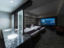 ・【ラグジュアリーフロアデラックスルーム】上層階26~28階、広さ42~43.2m2のゆったりとしたお部屋