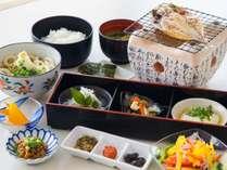 朝食は、手作りの和定食。※朝食イメージ
