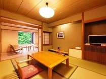 和室8畳◆広縁も開放的でお二人の方にお勧めです。(定員2名)和室8畳