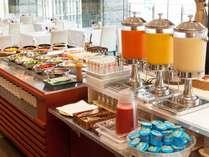 【朝食】和洋食のブッフェ