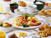 【朝食】和洋食ビュッフェ