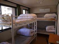 2段ベッド6人部屋丸々貸切プラン
