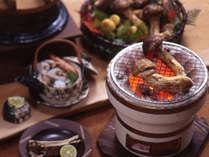 秋の特別料理「松茸のお料理」