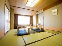 シンプルな8畳タイプの和室一例