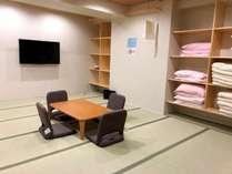 和室20畳の大広間にてたっぷりとおくつろぎくださいませ。