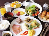 朝食ブッフェイメージ♪バラエティー豊かな充実メニューをご用意!オーシャンビューレストラン「レイール」