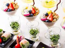 【美食ブッフェ】身体に良く栄養素に富んだスーパーフードディナーブッフェ【1泊2食付】
