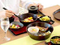 1Fプールサイドレストラン サザンテラス朝食 和風セットメニュー