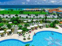 ガーデンプール&オーシャンビュー。南国リゾートの夏遊びはプール・ビーチどちらも楽しみたい!