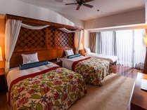 ロイヤルオーシャンスイート客室(80平米)ベッドルーム