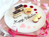 【Sweet◆Valentine】ホテル特製シーサースイーツで甘いひと時を/オーシャンビュー客室・朝食付♪