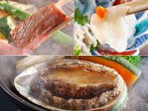 【長崎和牛&河豚&鮑】この夏限定!3周年だからドドーンと3種類★高級食材!食べ比べ「ふるさと割」