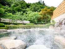 *【大浴場/内湯】強アルカリ性(9.7ph)の湯は、古い角質をとり、お肌ツルツルにしてくれる「美肌の