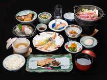 *【ご夕食一例】豊かな土壌に恵まれた、信州産の食材を中心にし たお食事をお楽しみ下さい。