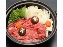 女性に嬉しい♪ヘルシー牛肉!「かづの牛すき煮鍋」御膳♪♪ほっこりゆったり温泉三昧♪