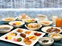 [朝食バイキング]50種類のバイキングで朝の元気をチャージ!!