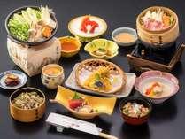 「2017年度 下期 かづの恋姫コース」お料理一例 ※季節により献立は変更となります