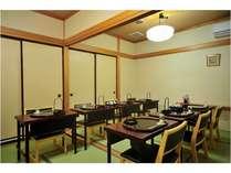 ■食事処「三眠亭」■ 個室でお食事をお召し上がりいただけます。