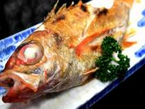 【焼魚の王様】のどぐろ汐焼御膳と季節の釜飯付プラン