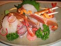 【献上大越前蟹2人茹1杯】焼刺寿司茹でしゃぶ雑炊