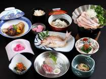 冬の料理。控えめでも満足していただけると思います~!!