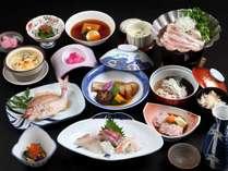 冬の夕食は、寒鱈料理は濃厚なお味で、お酒にも合います~(^u^)