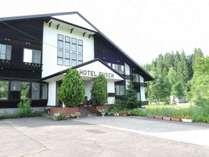 *【外観】木の香りと暖かいぬくもりのあるホテルです。