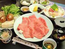 【夕食一例】すきやき中心のお食事