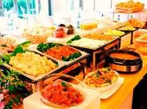朝食ブッフェ(6:30~9:00) たくさん召し上がってください!