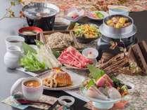 ふつふつ香る炊上がりが楽しい釜飯御膳※季節や仕入れにより内容が変わります。