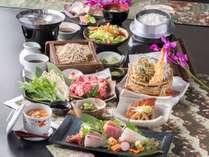 天婦羅、金目煮付けも付いたお手軽会席御膳♪※季節や仕入れにより内容が変わります。