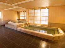 檜の香りそのままに4階大浴場リニューアル♪