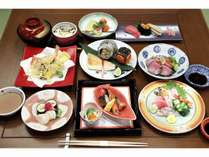 夕食 寿司会席