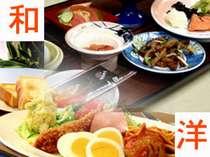 日替わり朝食(和食・洋食選べます)