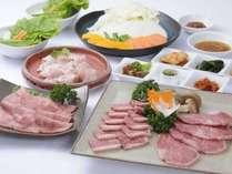厳選したお肉を♪甲賀プラン 焼肉コース【温泉無料♪】