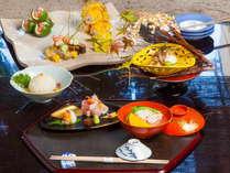 秋の京懐石料理一例