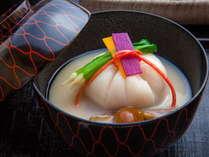 冬の京懐石料理一例