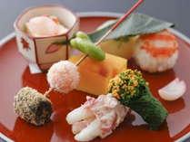 春の京懐石料理イメージ