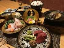 犬御殿本館で食べる 紀州厳選懐石 『松』 プラン