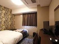 【シングルルーム】全室シモンズ製ベッドを使用!