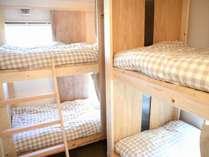女性専用ドミトリー(2段ベッド2台)