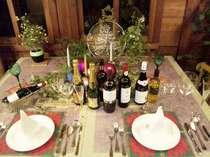 ご予約ディナーテーブルセット・イメージ